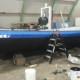 Werkboot 8 meter Te koop 2 werkbootjes, visboot,vissersboot met in boord motor